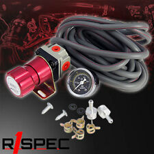 Universal Red Turbo Manual Boost Controller with Gauge 1-150 PSI MBC S13 S14 S15