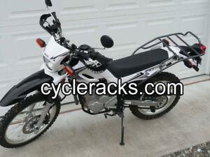 Yamaha XT 250 Rear Motorcycle Rack