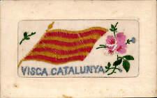 Silk. Visca Catalunya. Flag.
