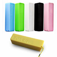 Portable External 2600mAh Battery USB Battery Charger Power Bank with Key Chain