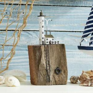 Lighthouse & Cottage Shelf Sitter