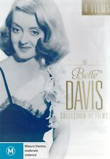 BETTE DAVIS COLLECTION 4 Great Films Brand New but UNSEALED 4-DVD Set Region 4