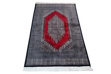 Fein Handgeknüpfter Perser Orientteppich Buchara Jomut carpet tapis rug 155X95cm