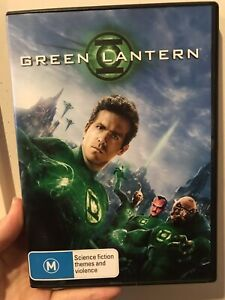 GREEN LANTERN DVD 2011 Ryan Reynolds Region 4, Free Postage
