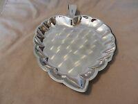 Vintage Silverplated Leaf Appetizer Serving Platter