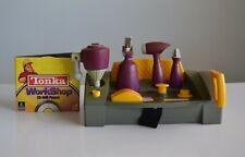 Tonka Workshop Interactive CD ROM Tool Bench 1998 Hasbro Drill, Saw, Lathe