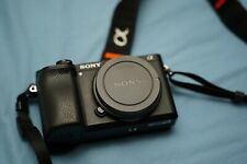 Sony A6300 compact SLR mirrorless camera + 3 batteries 9296 actuations