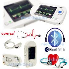 bluetooth Contec Multi-functional Visual Stethoscope+adult spo2 probe CMS-VESD