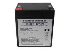 NEW Casil CA1240 12V 5AH First Alert ADT Replacement Alarm System Battery