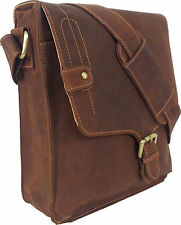 UNICORN Real Leather iPad, Kindle, Tablets & Accessories Messenger Bag Tan #5M