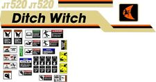 American Augerbauer Casagrande Ditch Witch Reedrill Vermeer Decal Sets