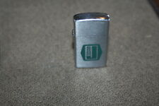 Vintage Mini Barlow Lighter with Oil Company Logo Made in Japan