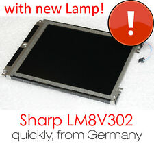 "LM8V302 SHARP STN 7.7"" 20cm 640*480 LCD PANEL SCREEN INDUSTRIAL MASHINE NEW LAMP"