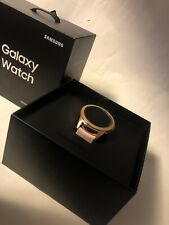 Samsung Galaxy Watch SM-R810 42mm Rose Gold Case Classic Buckle Pink Beige - Bl…