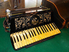 Excelsior Accordiana - Antique 4/5 Reeds Sounds Incredible - Vintage Accordion