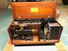 Antique Cambridge Instrument Co Electrocardiograph Simpli Trol Ekg Machine 2 Box