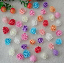 3.5cm Lovely PE Foam Roses Flower DIY Wedding Decor Wholesale 50-1000PCS