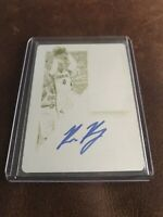 Panini Contenders Optic Bruce Brown RC 1 Of 1 🔥🔥Printing Plate Auto