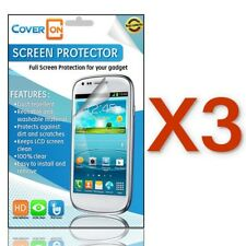 LOT 3 New Clear Anti Glare LCD Screen Protector Cover For HTC  Desire 601