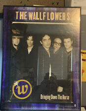 "The Wallflowers Autographed "" Bringing Down The Horse Framed Poster 24x18"