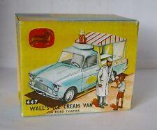 Repro box CORGI Nº 447 walls ice cream van