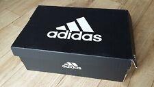 Adidas Trainers Empty Black Shoe Box UK Size 4 & Logo Tissue Paper