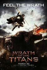 WRATH OF THE TITANS Movie POSTER C 27x40 Sam Worthington Liam Neeson