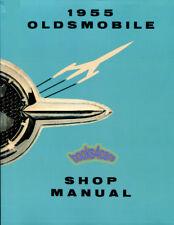 Shop Manual Oldsmobile Service Repair 1955 Book Haynes Chilton (Fits: Oldsmobile)