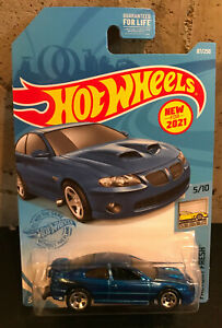 2021 Hot Wheels Impulse Blue Metallic LS2 '06 Pontiac GTO NEW FOR 2021!
