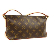 LOUIS VUITTON TROTTEUR CROSS BODY SHOULDER BAG MONOGRAM M51240 AR0096 A52738