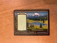 2018 UD Goodwin Champions - Tipsoo Lake - National Parks Vintage Map Relic /99