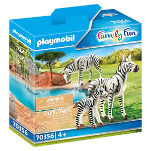 Playmobil Zebras With Foal Set 70356 NEW IN STOCK