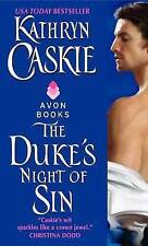 The Duke's Night of Sin (Avon)-ExLibrary