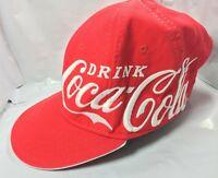Red Coca-Cola Logo embroidered baseball hat cap adjustable snapback Classic FS