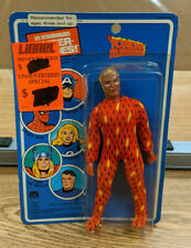 Mego Worlds Greatest Super Heroes Human Torch Action Figure - Sealed - French