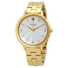 Kate Spade Metro Scallop White Dial Ladies Gold-tone Watch KSW1494