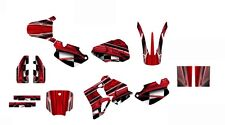1996 1997 1998 1999 2000 2001 2002 CR 80 graphics CR80 deco kit NO2001 Red
