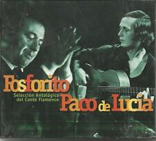 FOSFORITO PACO DE LUCIA Seleccion antologica del cante flamenco 2 CD 2001 SEALED