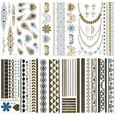 GOLDTATTOO SET ❤️  über 80 Teile Tattoos GOLD + Silber 💋  Beauty TATTOO M-P-NY
