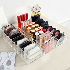 Acrylic Brush Lipstick Holder Makeup Organizer Cosmetic Stand Storage Case