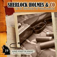 SHERLOCK HOLMES & CO - EINE STADT IN ANGST-VOL.19  CD NEW DOYLE,ARTHUR CONAN