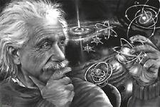(LAMINATED) EINSTEIN - QUAZAR POSTER (91x61cm) JAMES DANGER HARVEY  NEW WALL ART
