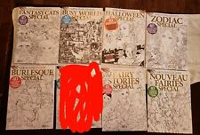 Adult coloring book lot 18 Total- Coloring Heaven issues°message to make offer°