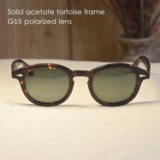 Retro Vintage Johnny Depp sunglasses mens tortoise glasses G15 polarized lens M
