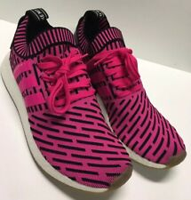 Adidas NMD R2 Primeknit Japan Shock Pink BY9697 Size 10.5 New Without Box