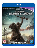 Dawn of the Planet of the Apes Blu-Ray (2014) Andy Serkis, Reeves (DIR) cert 12