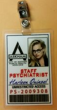 Gotham ID Badge-Arkham Asylum Harleen Quinzel Harley Quinn cosplay prop costume