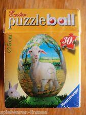 Ostern Puzzleball Puzzleei Ei Lamm Schaf stehend 30T 5 cm neu & ovp Ravensburger