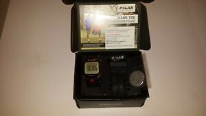 Polar RCX3M Watch Black Club Edition (WATCH, STRAP AND BATTERY COVER ONLY)