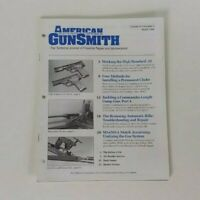 American Gunsmith Magazine Journal March 1996 Volume XI Number 3